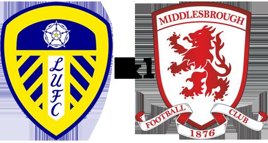 Match Review  Leeds United 1 x 1 Middlesbrough  5a8e0f56660ba